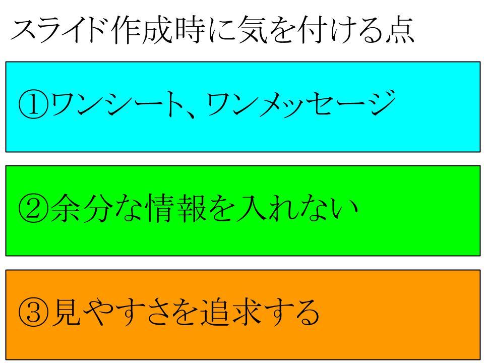 スライド作成ノウハウ1